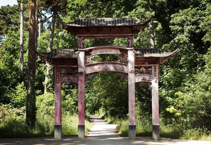 jardin porte de vincennes Porte chinoise