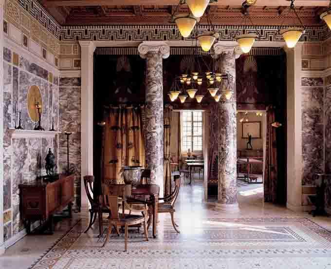L 39 agora des arts patrimoines villa grecque k rylos for Image chambre vintage