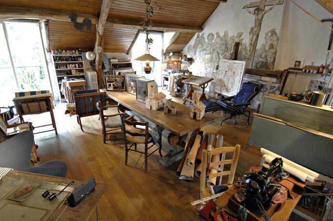 L 39 agora des arts patrimoines maison atelier foujita for Atelier de la maison