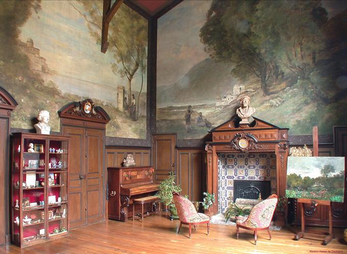 L 39 agora des arts patrimoines la maison atelier de daubigny for Atelier de la maison