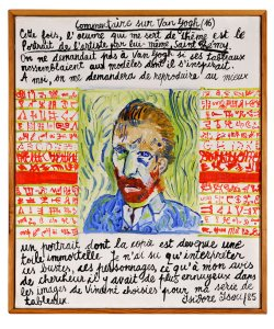 Isidore Isou, Commentaire sur Van Gogh